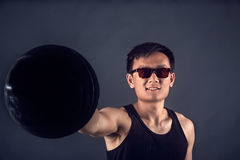 Modelo de Taiwanesse imagenes de archivo