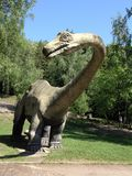 Modelo de tamaño natural de Dinosaurus Imagen de archivo libre de regalías