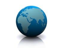 Modelo de terra Fotografia de Stock