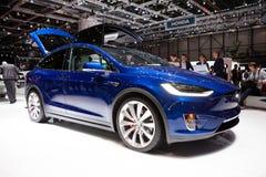 Modelo X de Tesla foto de stock