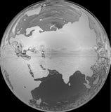 Modelo de tierra Fotografía de archivo libre de regalías