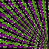 Modelo de tiras de negro, de verde y de violeta libre illustration