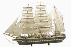 Modelo de um navio Foto de Stock