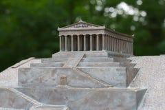 Modelo de uma construção clássica fotos de stock