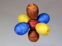 Modelo de un núcleo atomar con los orbitarios de P imagen de archivo libre de regalías
