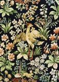 Modelo de una tapicería floral adornada Fotografía de archivo
