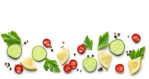 Modelo de verduras Imagen de archivo libre de regalías
