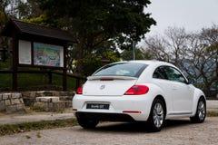 Modelo de Volkswagen Beetle 2013 fotografia de stock