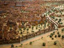 Modelo de Wurzburg, Alemania Fotos de archivo