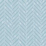 Modelo de zigzag azul y blanco, colores en colores pastel y líneas delicadas Foto de archivo