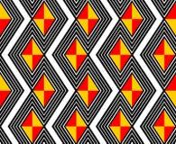 Modelo de zigzag en negrilla Fotografía de archivo libre de regalías