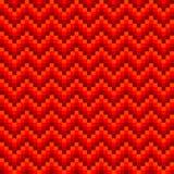 Modelo de zigzag inconsútil Imagen de archivo