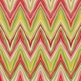 Modelo de zigzag linear psicodélico Fotografía de archivo libre de regalías