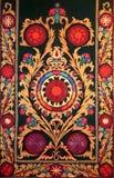 Modelo decorativo árabe del este del bordado fotos de archivo libres de regalías