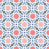 Modelo decorativo geométrico árabe oriental ilustración del vector