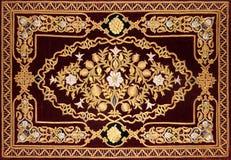 Modelo decorativo islámico fotos de archivo