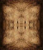 Modelo decorativo, líneas entrelazadas, la combinación de fragmentos de imágenes Foto de archivo