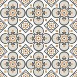 Modelo decorativo para el fondo, la teja y las materias textiles ilustración del vector