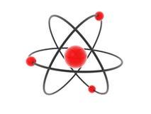 Modelo del átomo ilustración del vector