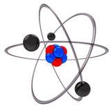 Modelo del átomo Foto de archivo libre de regalías