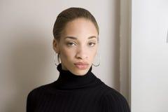 Modelo del afroamericano Fotos de archivo libres de regalías