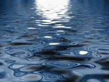 Modelo del agua Imagen de archivo