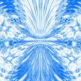 Modelo del agua azul Imagen de archivo