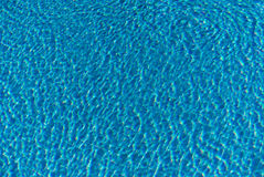 Modelo del agua de la piscina Fotografía de archivo libre de regalías