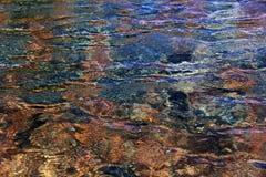 Modelo del agua en la piscina Imagen de archivo libre de regalías