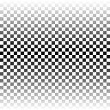 Modelo del ajedrez ilustración del vector