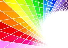 Modelo del arco iris Ilustración del Vector