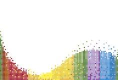 Modelo del arco iris Fotos de archivo libres de regalías