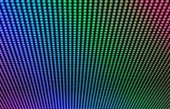 Modelo del arco iris del LED Imagen de archivo libre de regalías