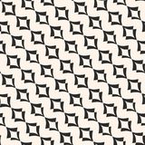 Modelo del art déco Ornamento del vector, filas diagonales curvadas libre illustration