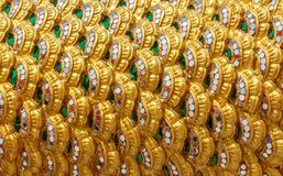 Modelo del arte de Tailandia Foto de archivo libre de regalías