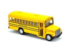 Modelo del autobús escolar Foto de archivo