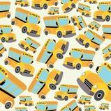 Modelo del autobús escolar Fotos de archivo libres de regalías