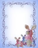 Modelo del aviso del bebé stock de ilustración