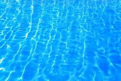 Modelo del azul del agua Fotografía de archivo