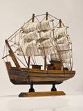 Modelo del barco Fotos de archivo