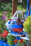Modelo del barco de pesca Fotos de archivo