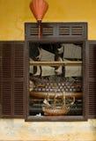 Modelo del barco de vela Fotos de archivo libres de regalías