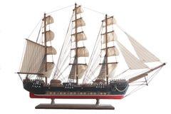 Modelo del barco de vela Foto de archivo