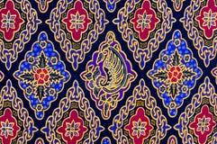 Modelo del batik Imágenes de archivo libres de regalías