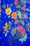 Modelo del batik Imagenes de archivo