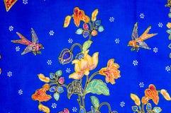 Modelo del batik Foto de archivo libre de regalías