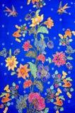 Modelo del batik Imagen de archivo libre de regalías