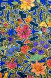Modelo del batik Foto de archivo