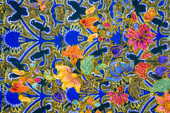 Modelo del batik Fotografía de archivo libre de regalías