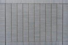 Modelo del bloque cuadrado de la pared de piedra moderna gris Imágenes de archivo libres de regalías